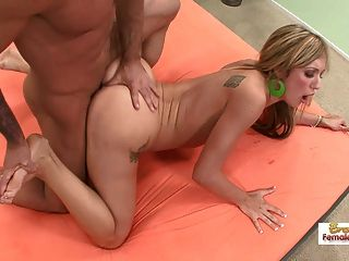 Chica de collage sexy follada como una puta
