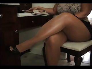 Grandes piernas gruesas