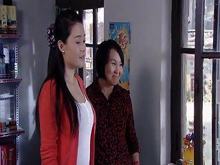 Belleza china estrella sexy mama