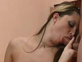 Bisex puffy tits sin espalda correa en mmf cim facial