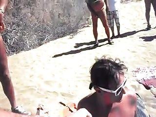 Playa de nudismo a la vez chicos