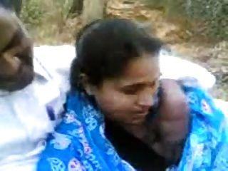 Bangladeshi, engañando, esposa, parque