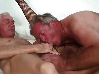 Pareja madura bisexual terapia i