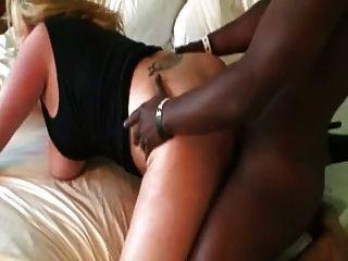 Bbc licks fucks busty blonde squirting \u0026 cumming