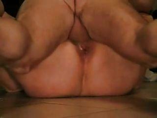 Amateur bbw granny crampie (clip corto)