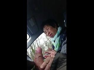 Abuela handjob # 6 chino chef sous, final feliz para llevar