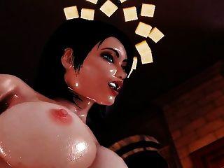 Elizabeth futanari sexo (bioshock)