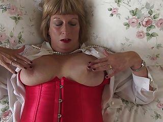 Cachonda british chubby granny obtener muy sucio