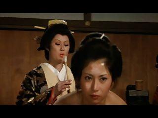 Harem japonés: el culo de plumas orgasmo a las putas concubina