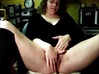 Mostrando su coño