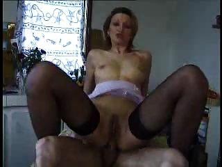 Francés maduro anal y facial profundo