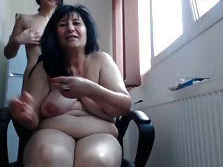 Show de webcam de mamá lesbiana rusa