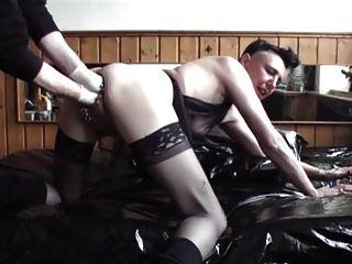 Regina bombeo anal fisting