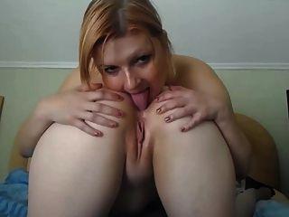 Lesbiana culo lamiendo