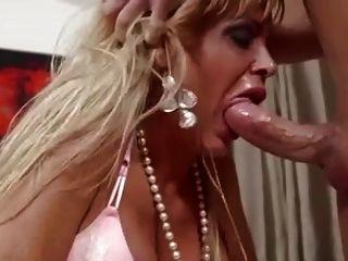 Madura rubia milf deepthroat carafucking gran polla