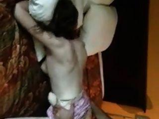 Marido películas esposa obtener golpeado por el toro en el motel