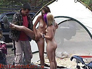 Colorado camping parte 2 calentando a las chicas
