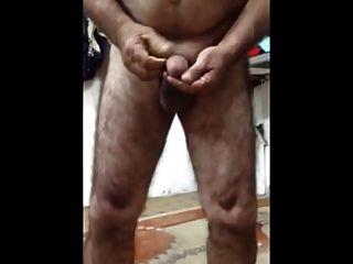 Papá árabe caliente desnudo