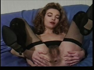 Consolador anal francés peludo francés