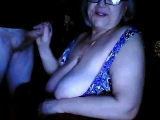 Abuelita rusa enormes tetas n chupar marido webcam