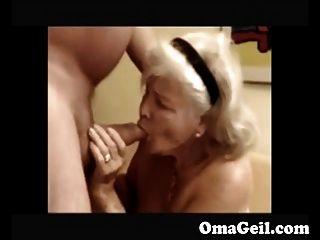 Abuelita duro chupar dick de abuelo