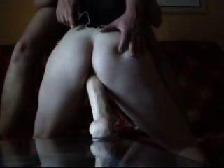Esposa consolador follando al orgasmo