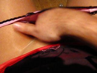Cumming sexy en pantyhose