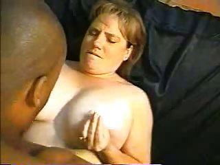 Mujer gordita tomar su bbc