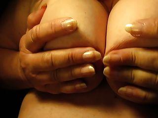 Close up pezones y tetas