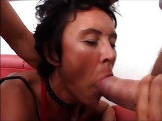 Corto de pelo alemana milf irina escena 2 anal, dp