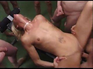 Milf anal, gangbang anal