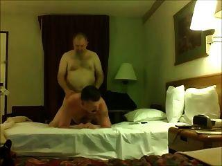 Papá oso follando