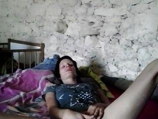 Mujer limusina en solitario