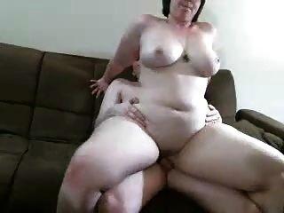 Chubby caliente pareja