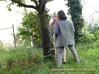 Verdaderas calles de sexo alemán
