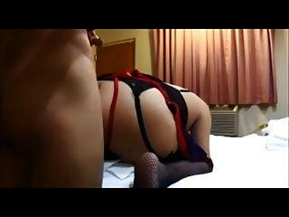 Aficionado big butt wife casade anal
