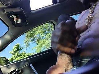 Str8 papá carrera en el coche