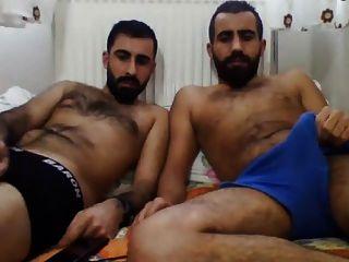 Str8 turco amigos en la cámara