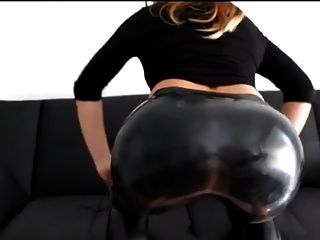 Culo culo latex leggings