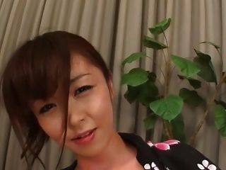Anal asiática dildo masturbación e increíble chorro