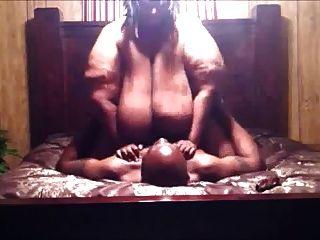 Muy gorda mujer negra follada