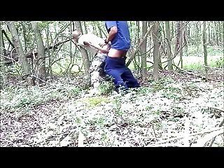 Str8 soldado papá jodido en el bosque