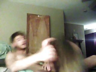 Córnea joven amatuer pareja webcam sexo