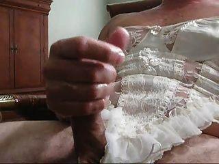 jacking en ropa interior blanca