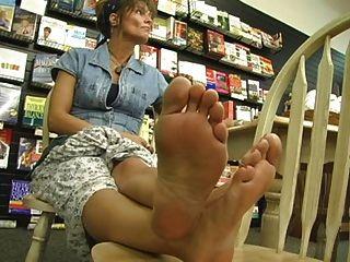 más sexy pies maduros