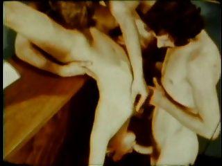vintage: trío acrobático