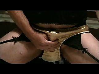 panty niño juega en bragas de raso de oro parte 3