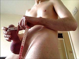 midiendo la circunferencia de la pene de 7 pulgadas