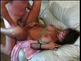 busty mature ho cunt y titty jodido