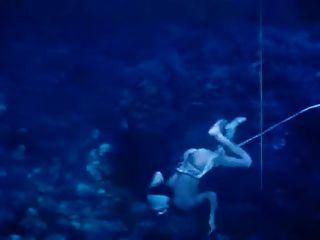 japonés ama buzo submarino 1963